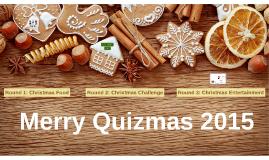 Merry Quizmas 2015