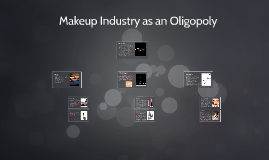 Makeup Industry as an Oligopoly