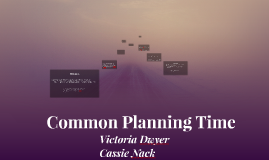 Common Planning Time