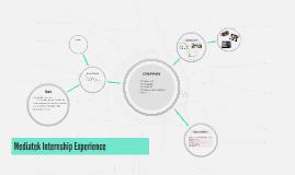 Mediatek Internship Experience
