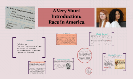 Intro to Race in America