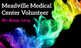 Meadville Medical Center Volunteer