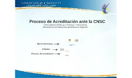 Proceso de Acreditación de Universidades - ClauJeff