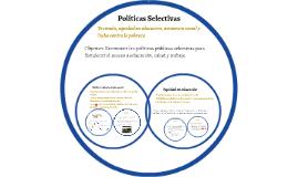 Políticas Públicas Selectivas