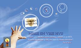Missie en Visie HVU
