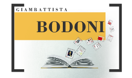 Copy of BODONI