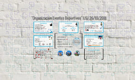 """Charla """"Eventos Deportivos"""" USJ 06/11/2015"""""""