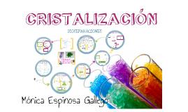 Copy of CRISTALIZACIÓN