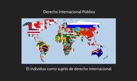 El individuo como sujeto de derecho internacional