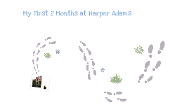 My first 2 months at Harper Adams