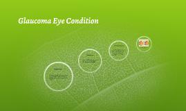 Glaucoma Eye Condition