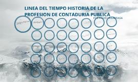 Copy of LINEA DEL TIEMPO PROFESION CONTABLE ETICA
