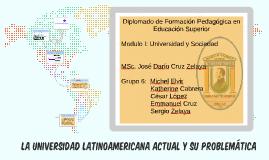 La Universidad latinoamericana actual y su problemática