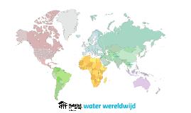 waterprojecten wereldwijd