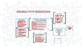 ESPAZIOA HAUR HEZKUNTZAN
