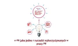 Narzędzia wykorzystywane w pracy PR