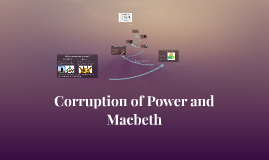 Corruption of Power and Macbeth