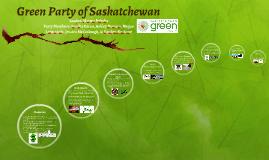Copy of Green Party of Saskatchewan