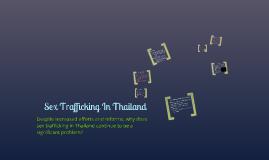 Sex Trafficking in Thailand