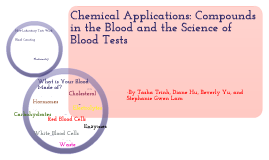 Chemistry Final Project - Chemical Compounds in the Blood and the Science of Blood Testing