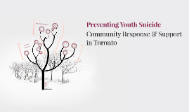 Preventing Youth Suicide in Toronto
