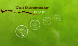 Copy of World Environment day