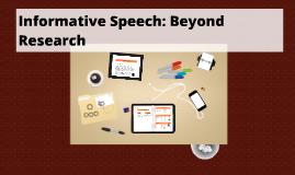 Copy of Copy of Informative Speech