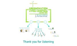Copy of Greenovation