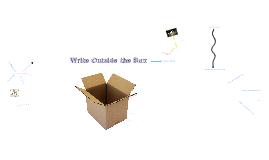 Write Outside the Box