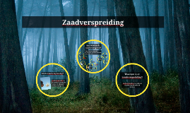 Copy of Zaadverspreiding
