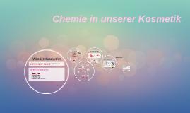 Chemie in unserer Kosmetik