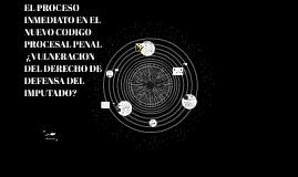 EL PROCESO INMEDIATO EN EL NCPP