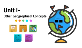 Unit I- Other Geographical Concepts