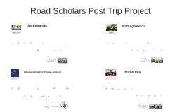 Post Trip Project