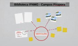 Biblioteca IFNMG - Campus Pirapora