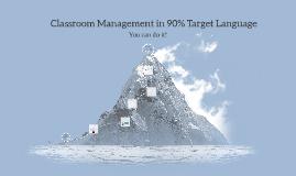 Classroom Mgt in TL