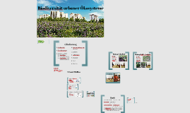 Copy of Biodiversität urbaner Ökosysteme