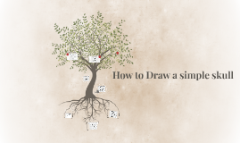 How to Draw a simple skull