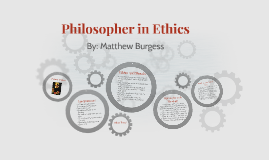Philosopher in Ethics