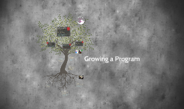 Growing a Program