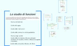 Lo studio di funzioni