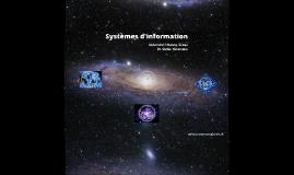 Copy of Systèmes d'Information - Uni Fribourg