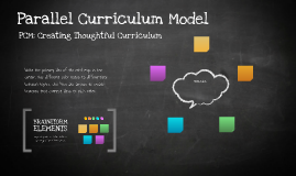 Parallel Curriculum Model