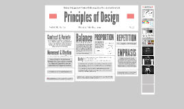 Principles of Design Definitions