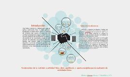 Fundamentos  de  la  nutrición  y actividad  física,  dieta