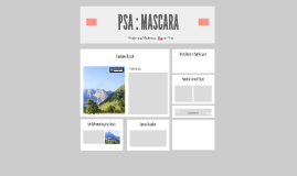 PSA : MASCARA