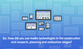 Evaluation Question 4 - Media Technologies Used