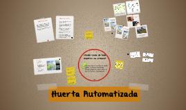 Huerta Automatizada