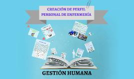 Copia de PERFIL DE ENFERMERÍA