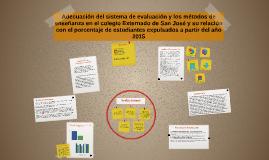 Adecuación del sistema de evaluación y los métodos de enseña